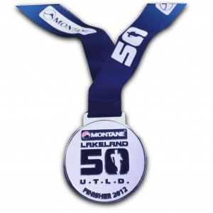 Lakeland 50 Finishers medal