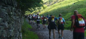 The start of the Lakeland 100 - photo by Nick Ham